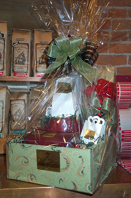 Gift baskets | Old Town Coffee and Chocolates